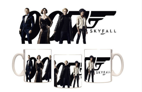 Taza mug James Bond Skyfall