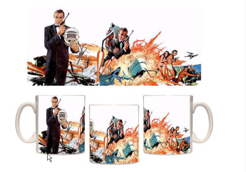 Taza mug James Bond Thunderball